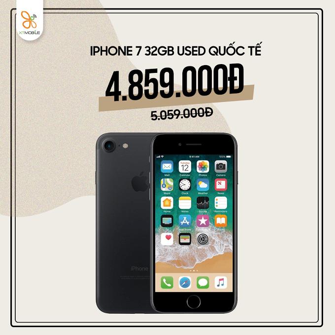 iPhone 7 32GB cũ giảm thêm 200K tại XTmobile