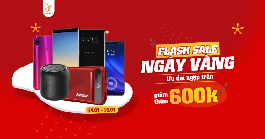 Flash Sale Ngày Vàng: Galaxy Note 8 giảm thêm đến 600K, phụ kiện giảm 26%