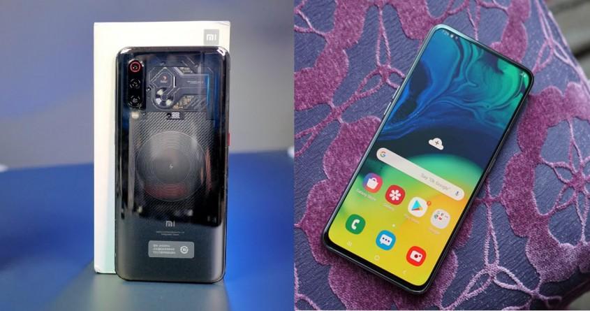 Galaxy A80 với Xiaomi Mi 9 Explorer: Thiết kế nào độc đáo hơn?