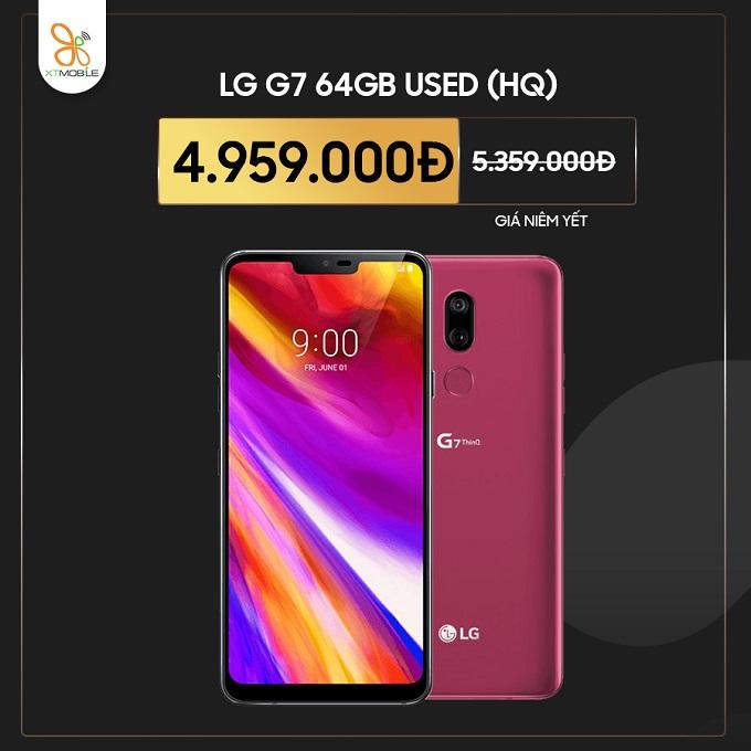 LG G7 64GB Hàn cũ giảm thêm 400K tại XTmobile