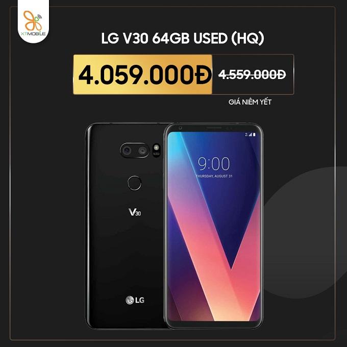 LG V30 Hàn cũ giảm thêm 500K tại XTmobile