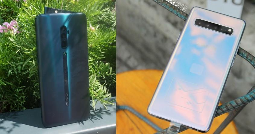 Samsung Galaxy S10 Plus so tài ' lấn lướt' trước Oppo Reno 10x Zoom