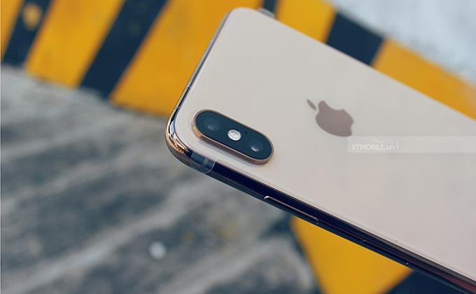 iPhone XS Max 512GB active được trang bị một cụm camera kép 12MP nằm ở phía sau