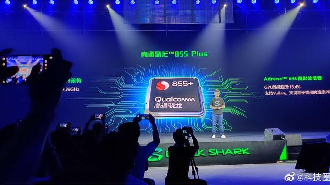 Black Shark 2 Pro là điện thoại thứ 2 trên thế giới được trang bị cấu hình siêu mạnh mẽ