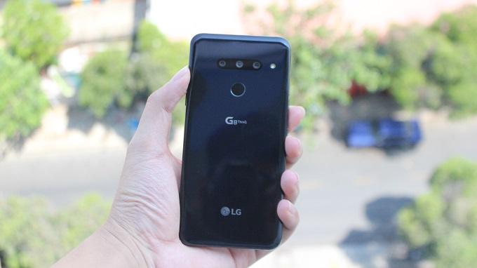 Thiết kế LG G8 128GB Mỹ sang trọng và đẹp mắt đến từng chi tiết