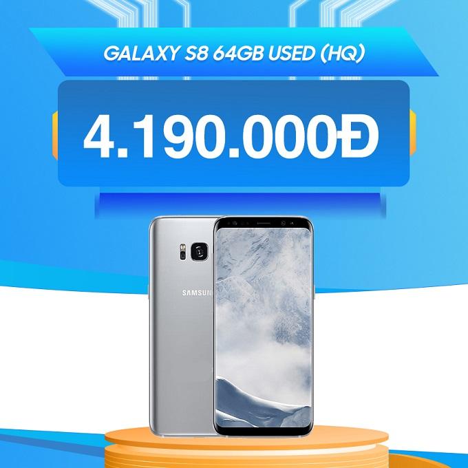 Samsung Galaxy S8 giá chỉ từ 4.1 triệu