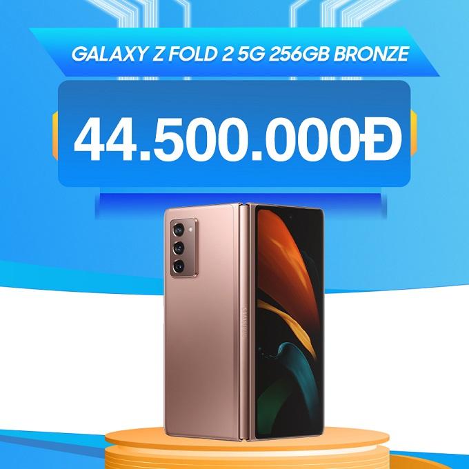 Samsung Galaxy Z Fold 2 5G giá chỉ từ 44.5 triệu