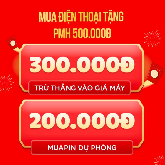 Mua điện thoại nhận ưu đãi 500.000đ