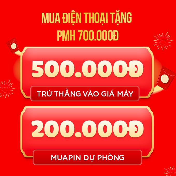 Mua điện thoại nhận ưu đãi đến 700.000đ