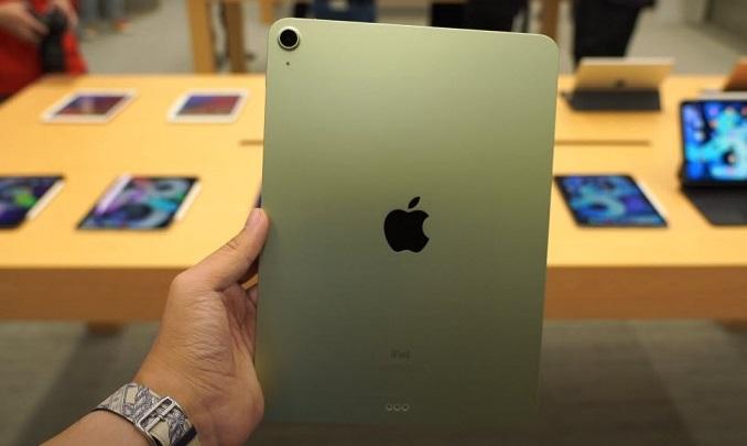 iPad Air 4 (2020) 64GB 4G tuy chỉ đi cùng camera đơn ở sau nhưng được tích hợp nhiều tính năng hấp dẫn