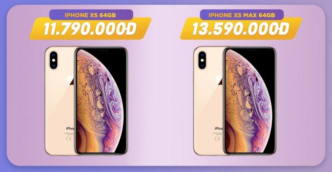 iPhone Xs, Xs Max giảm đến 1.7 triệu đồng