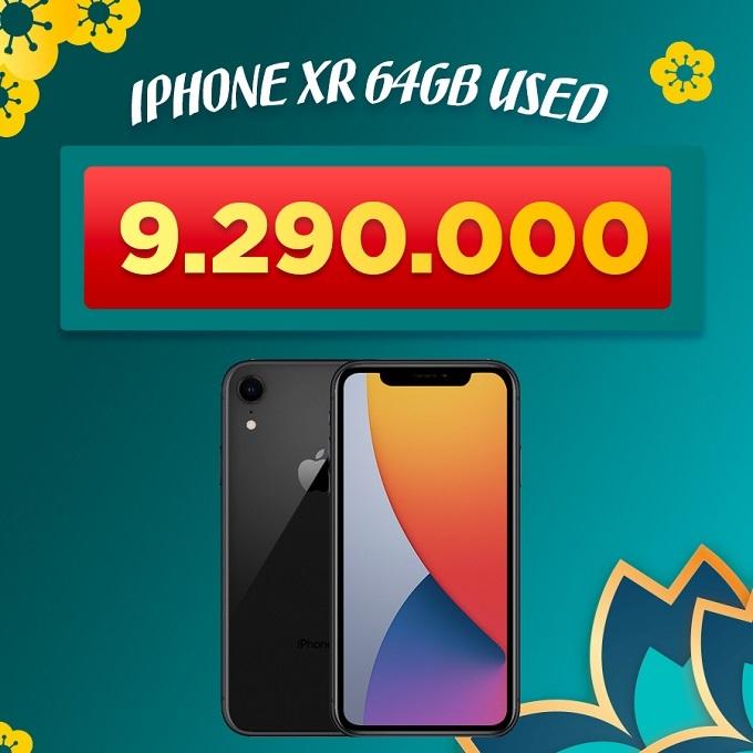 iPhone Xr 64GB cũ giảm thêm 1.300.000đ giá chỉ còn 9.290.000đ