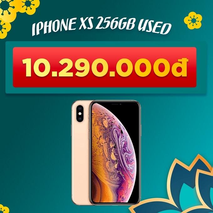 iPhone Xs 256GB 97% giảm thêm 3.700.000đ giá chỉ còn 10.290.000