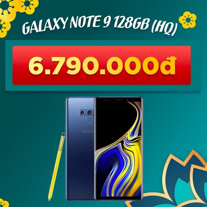Galaxy Note 9 128GB Hàn cũ giảm thêm 800.000đ giá chỉ còn 6.790.000đ
