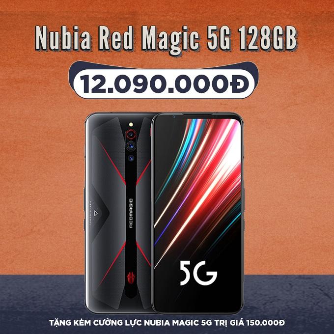 Nubia Red Magic 5G giá cực tốt chỉ 11,9 triệu