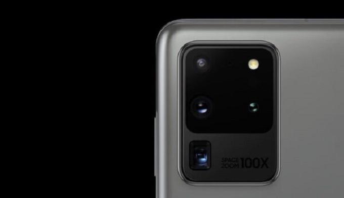 Galaxy Note 20 Ultra  sẽ đi cùng hệ thống ba camera sau bao gồm một cảm biến chính có độ phân giải lên tới 108MP