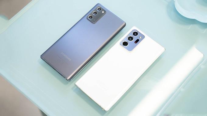 Thiết kế Galaxy Note 20 Ultra sang trọng và vuông vắn hơn