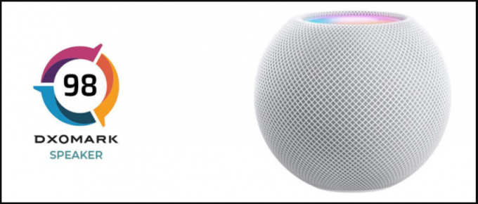 HomePod mini ghi đươc 98 điểm về chất lượng âm thanh