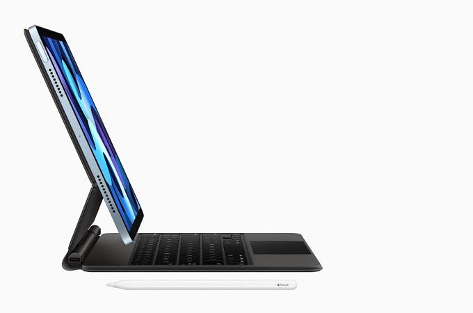 iPad Air 4 còn hỗ trợ Magic Keyboard và Apple Pencil