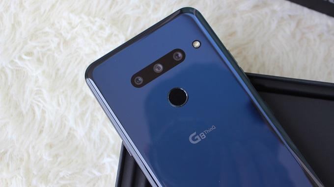 Camera LG G8 128GB Mỹ được thiết lập ẩn vô cùng độc đáo
