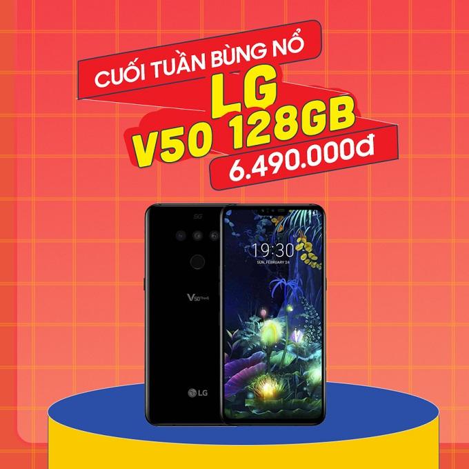 LG V50 giá chỉ còn 6.4 triệu