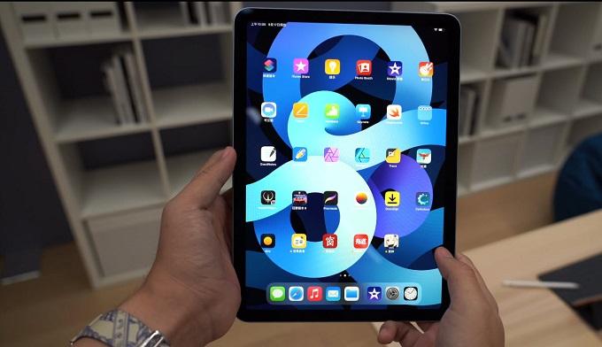 iPad Air 4 (2020) 256GB Wifi được trang bị màn hình Liquid Retina có kích thước 10.9 inch