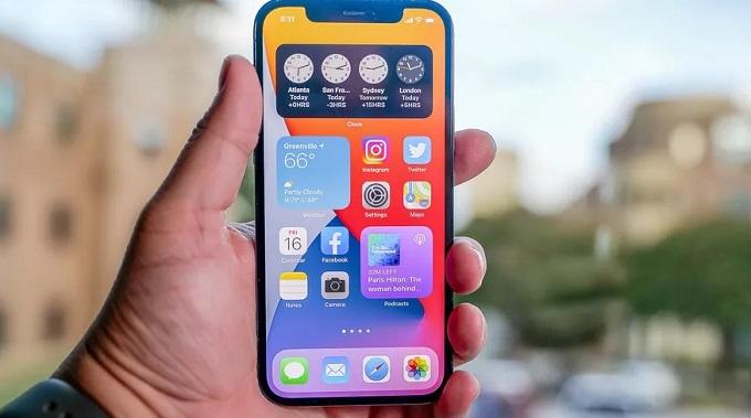 iPhone 12 Pro Max 128GB VN/A chính là mẫu iPhone có màn hình lớn nhất ủa Apple