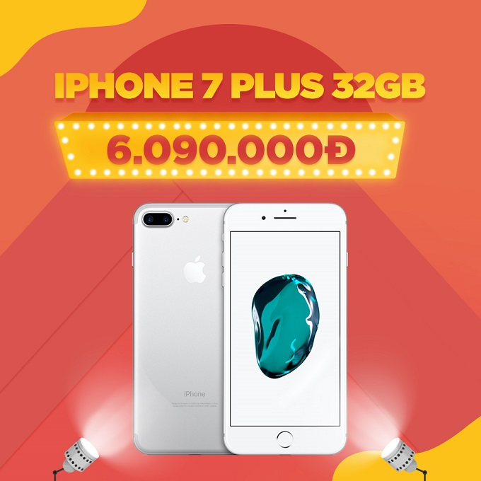 iPhone 7 Plus giá chỉ còn 6 triệu