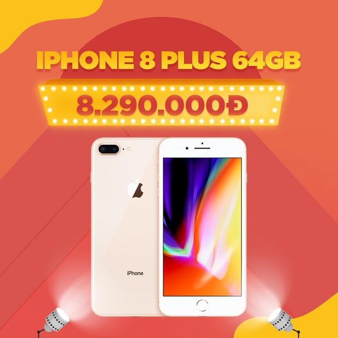 iPhone 8 Plus giá chỉ còn 8,4 triệu