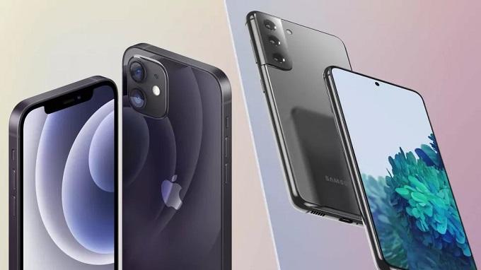 So sánh Galaxy S21 vs iPhone 12 về camera