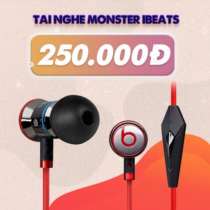 Tai nghe Monster iBeats giảm đến 58%