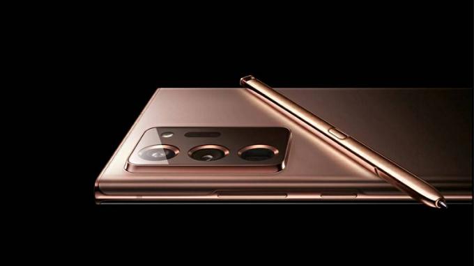 Cụm camera sau Galaxy Note 20 Ultra sẽ có cảm biến chính 108MP