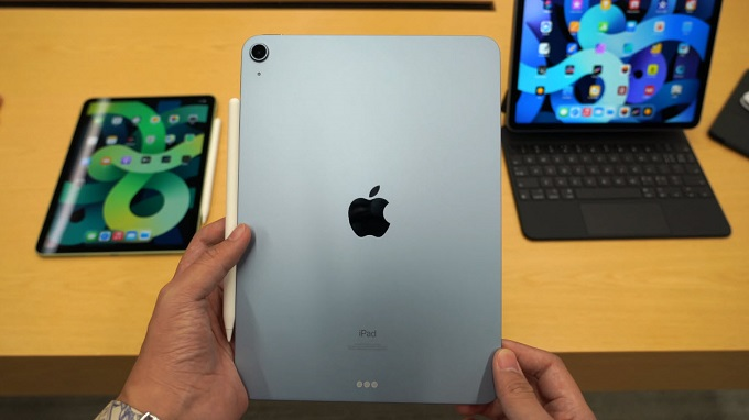 Thiết kế iPad Air 4 (2020) 64GB 4G mang nhiều nét tương tự iPad Pro 2020