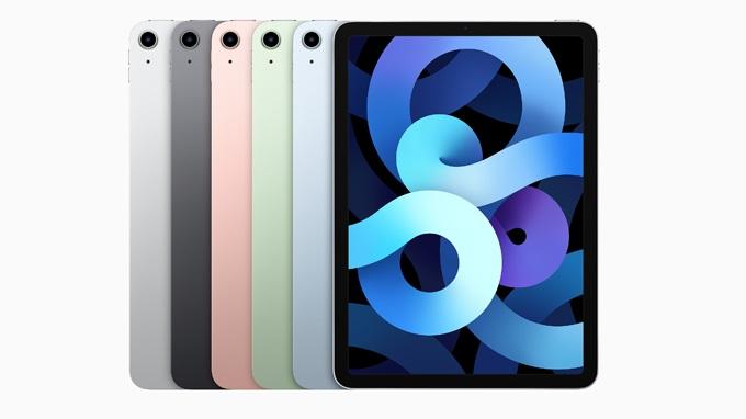 iPad Air 4 sở hữu thiết kế vuông vắn, mạnh mẽ và sang trọng