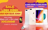 Sale linh đình: Mua iPhone 7 Plus, iPhone 8 Plus giá chỉ từ 6 triệu đồng kèm quà xinh