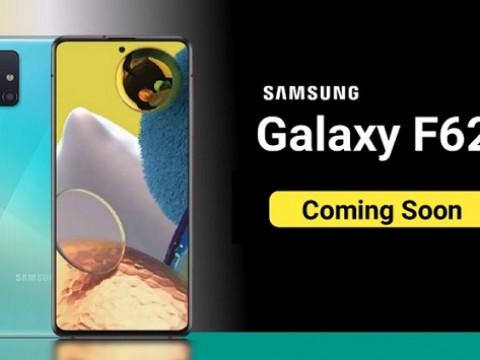 Hình ảnh thực tế bộ khung Galaxy F62 được tiết lộ, xác nhận sẽ đi cùng 4 camera hình vuông ở phía sau