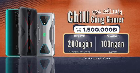 Deal cuối tuần - Chill cùng gamer: Mua Black Shark 3, Redmi Note 8 Pro, Red Magic 5G giá giảm sốc đến 1.5 triệu đồng