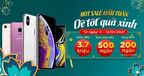 Hot sale đầu tuần: Mua iPhone Xs, iPhone Xr, iPhone 8, Galaxy Note 9 giá giảm sốc đến 3.7 triệu đồng