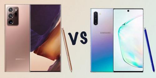 So sánh Galaxy Note 20 Ultra vs Galaxy Note 10+: Nâng cấp liệu có đáng?