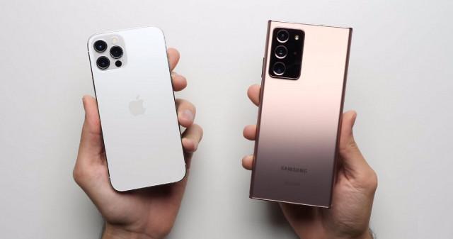 iPhone 12 Pro vs Galaxy Note 20 Ultra đọ tốc độ tải ứng dụng thực tế: Ai là người chiến thắng?