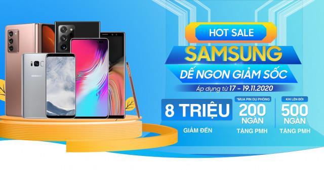 Hot sale Samsung: Mua Galaxy Note 20, Galaxy Z Fold 2 5G, Galaxy Note 10 Plus giá giảm đến 8 triệu đồng
