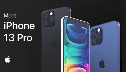 Concept iPhone 13 Pro lộ diện Notch nhỏ gọn hơn, Touch ID dưới màn hình
