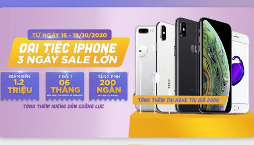 Đại tiệc iPhone: Mua iPhone Xs, iPhone Xs Max, iPhone 8 Plus giá giảm đến 1.7 triệu