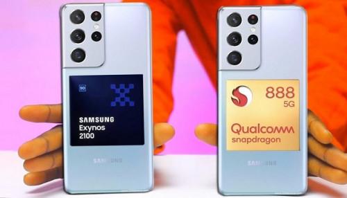 Đọ thời lượng pin Galaxy S21 Ultra chạy chip Exynos 2100 với chip Snapdragon 888: Kết quả khá ấn tượng