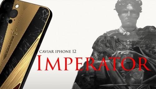 Tan chảy trước bộ sưu tập iPhone 12 siêu ngầu của Caviar, mẫu đắt nhất có giá hơn 1 tỷ