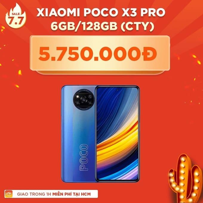 Xiaomi Poco X3 Pro 128GB giảm thêm 940.000đ
