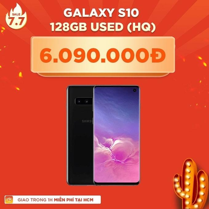 Galaxy S10 128GB Hàn cũ giảm thêm giảm thêm 1.400.000đ