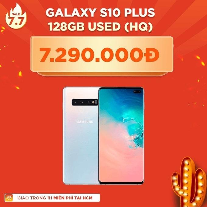 Galaxy S10 Plus 128GB Hàn cũ giảm thêm 1.500.000đ