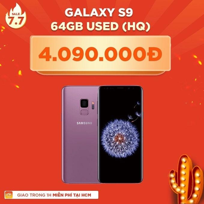Galaxy S9 64GB Hàn cũ giảm thêm 1.400.000đ