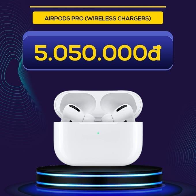 Tai nghe Apple AirPods Pro (Wireless Chargers) (VN/A) giảm thêm đến 1.940.000đ, chỉ còn 5.050.000đ